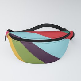 Bright Rays of Light - Circus Tent - Pride Beams - 57 Montgomery Ave Fanny Pack
