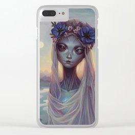 Dreams of Other Worlds Clear iPhone Case
