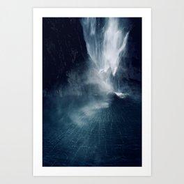 Bowen Falls (2) Art Print