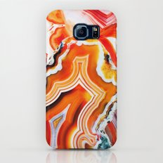 The Vivid Imagination of Nature, Layers of Agate Slim Case Galaxy S7