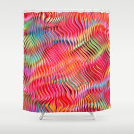 Abstract Pattern XXII Shower Curtain