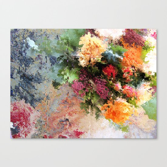 Four Seasons in One Day Canvas Print