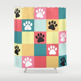 Paws Shower Curtain
