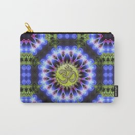 Om Shanti Fractal Geometry series #1 Carry-All Pouch