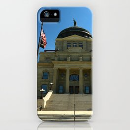 Montana State Capitol iPhone Case