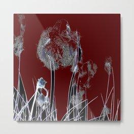 Abstract R/B Metal Print