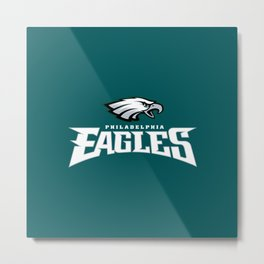 eagles phila nfl Metal Print