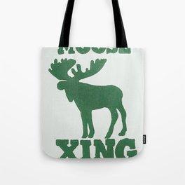 Moose Xing Tote Bag