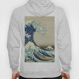 Katsushika Hokusai -The Great Wave off Kanagawa Hoody