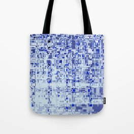 Abstract Architecture Blue Tote Bag