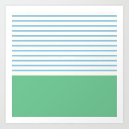 Narrabeen Stripe Art Print