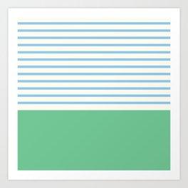 Narrabeen Stripe Art Print