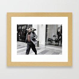 The Man from Aarhus  Framed Art Print