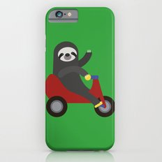 Sloth on Tricycle Slim Case iPhone 6s