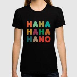 Hahahahaha no T-shirt