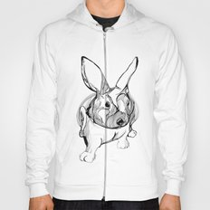 white rabbit Hoody