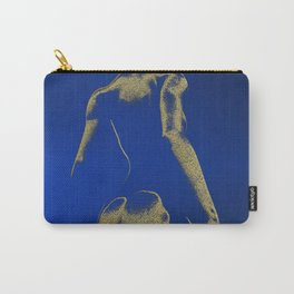 Golden seated Goddess Carry-All Pouch