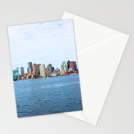City of Boston Whole view  Stationery Cards