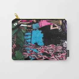 Psychedelic sea creatures Carry-All Pouch
