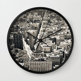 Flatiron Wall Clock