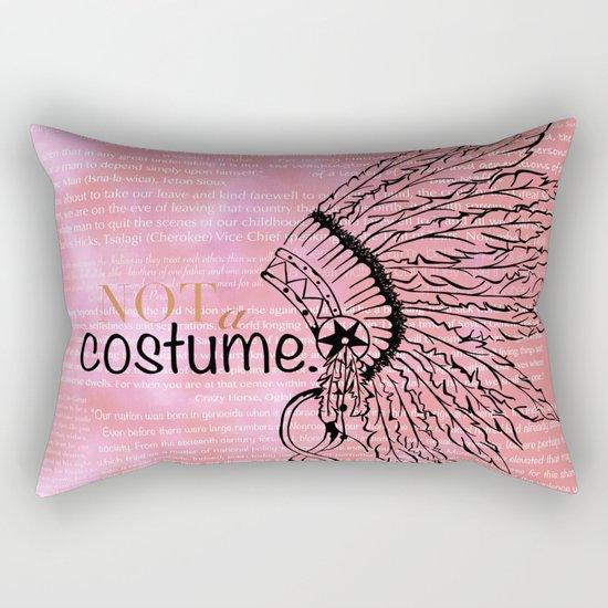 Not a Costume Rectangular Pillow