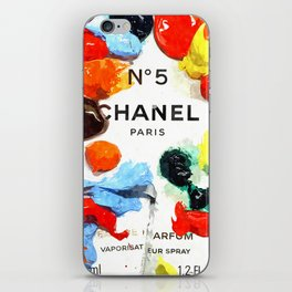 No 5 Colors iPhone Skin