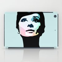 posters iPad Cases featuring Audrey Hepburn Posters by Creativehelper