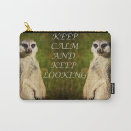 I am a model - a meerkat Carry-All Pouch