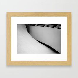 unfold Framed Art Print