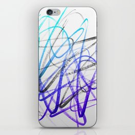 Expressive and Spontaneous Abstract Marker iPhone Skin