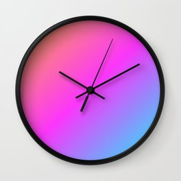 Simply Color Wall Clock