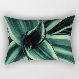 White Jewel - Dracaena Delight #2 #tropical #decor #art #society6 Rectangular Pillow
