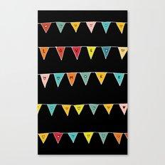 Love More (Black) Canvas Print