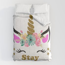 Stay Magical Unicorn Comforters