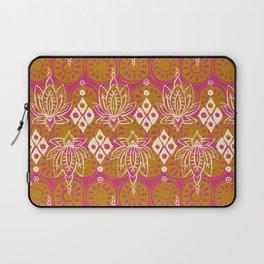 lotus diamond pink Laptop Sleeve