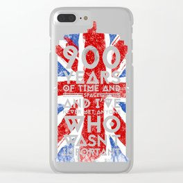900 Years of time and Clear iPhone Case