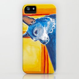 toothy dog iPhone Case