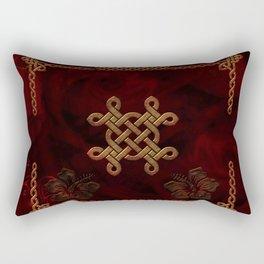 Celtic knote, vintage design Rectangular Pillow