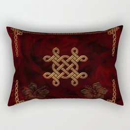 Celtic knote, vintage design Rectangular Pillow