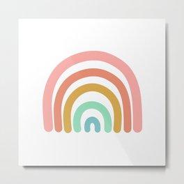 Rainbow Paint Metal Print