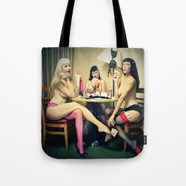 """""""Cheaters"""" Tote Bag"""