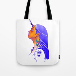 Horns of power Tote Bag