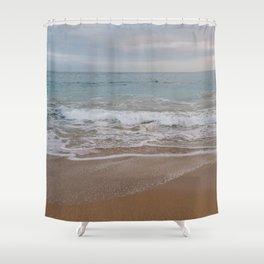 Cotton Candy Beach Shower Curtain