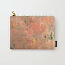 Baesic Coral Paint Smears Carry-All Pouch