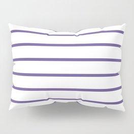 Ultra Violet Breton Stripes Pillow Sham