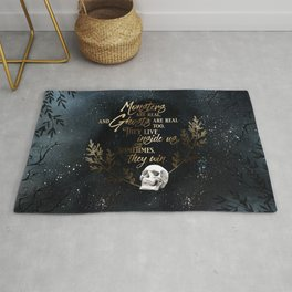 S King - Ghosts & Monsters Rug