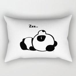 Sleeping Baby Panda Kawaii AWWW! Rectangular Pillow