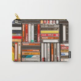 Something Nostalgic - III - Colored Version #decor #buyart #society6 Carry-All Pouch