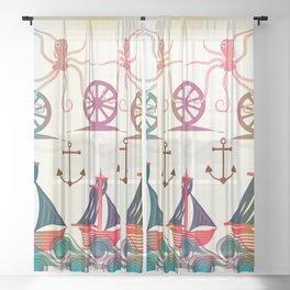 Sailor Sheer Curtain