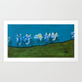 Angels Day Out Art Print